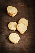 Home-made shortbread