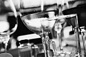 Glasses of white wine