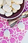 A bowl of meringues