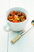 Tomato and pepper relish