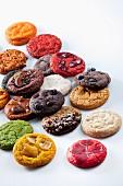 Various types of cookies