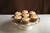 Carrot cupcakes with buttercream