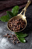 Cloves and leaves