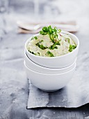 A bowl of tzatziki