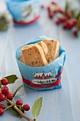 Anise biscuits as a gift