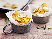 Jerusalem artichokes with rosemary