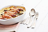Thai chicken gratin