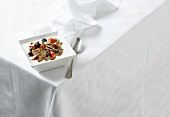 Yogurt with wholemeal cornflakes and berries