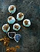White chocolate ginger pralines