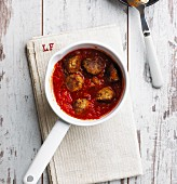 Meatballs in tomato sauce (low carb)