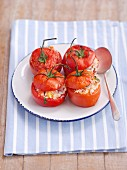 Tomatoes filled with rice