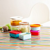 Storage ideas for baby food