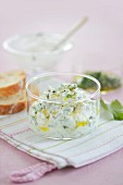 Lemon quark with sorrel