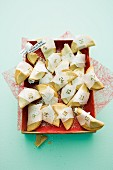 A fortune cookie advent calendar
