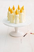 Edible birthday candles