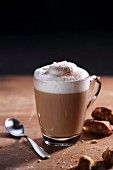 A cappuccino