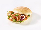Donner kebab with onions