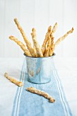 Sweet sesame seeds sticks