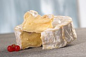 Camembert from Normandy, sliced