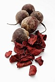 Beetroots and beetroot crisps