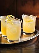 Elder & Wiser – Christmas cocktails made with whiskey, elderflower liquor and apple juice