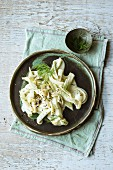 Fennel with Riesling cream