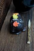 Maple wagashi (momiji) from Japan