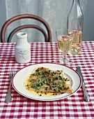 Rayfish with capers and brown butter