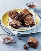 Pecan nut brownies