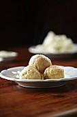 Quark dumplings