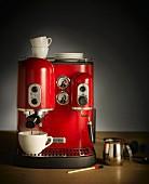 An espresso machine (Kitchen Aid)