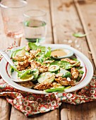 Dukkah chicken salad