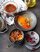 Spices and barbecue sauces