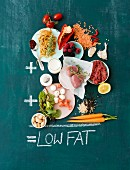 Ingredients for low-fat dishes