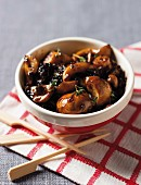 Balsamic mushrooms