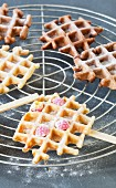 Waffles on sticks
