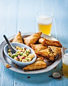 Stuffed pastry parcels with minced meat