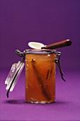 Pear and cinnamon jam