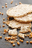 Corn and amaranth crackers