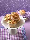 Savoury ham and cheese muffins