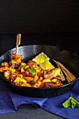 Paneer Tikka (Indian cheese dish)