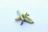 Fresh sticks of lemongrass