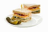 Sandwiches and pickles