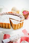 Eggnog cake fro Christmas