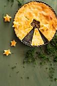 Christmas meat pie