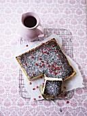 Chocolate and pomegranate seed Miroir