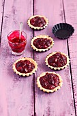 Cherry tartlets