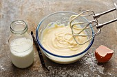 Vanilla cream cake filling