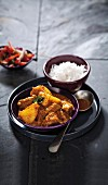 Massaman curry with pork