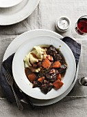 Daube de Boeuf with mashed potatoes